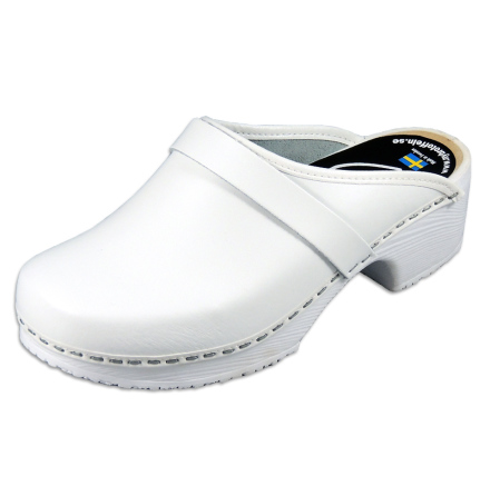 Classic White PU Women´s Clogs