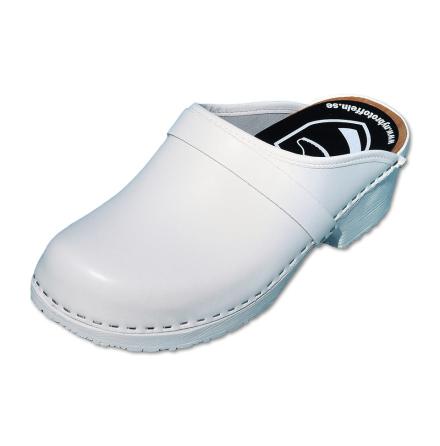 Classic White PU Men´s Clogs