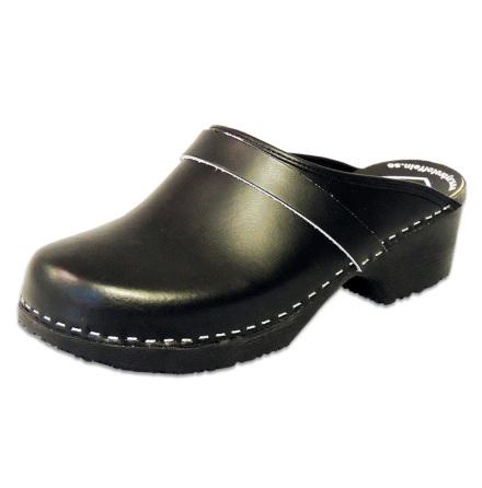 Classic Black PU Men´s Clogs