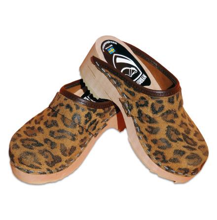 Leopard Children´s Clogs